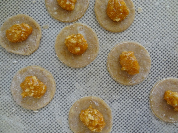 With apricot Jam
