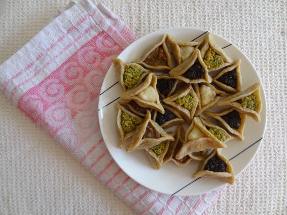 Purim Cookies, mini style