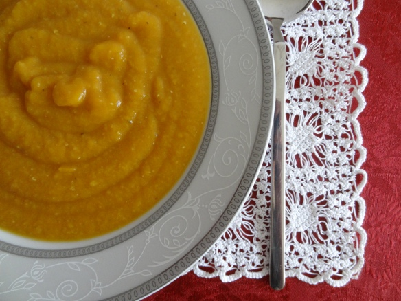 """Orange"" Soup Up-Close"