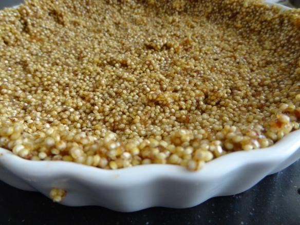 Quinoa Crust close-up