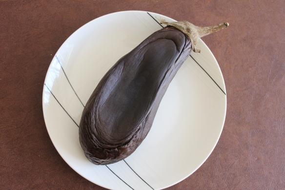 Mutilated eggplant
