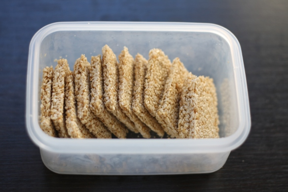 Easiest Honey-Roasted Sesame Cookies by The Graceful Kitchen
