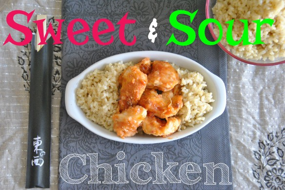 Sweet & Sour Chicken | The Graceful Kitchen