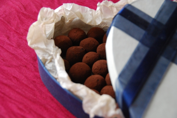 Blueberry-Walnut Chocolate Truffles for Tu B'Shvat | The Graceful Kitchen