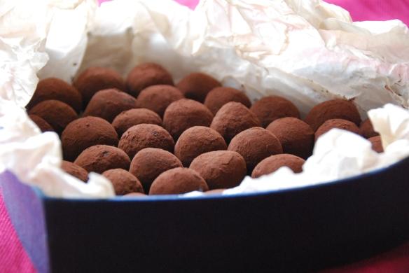Blueberry-Walnut Chocolate Truffles for Tu B'Shvat   The Graceful Kitchen